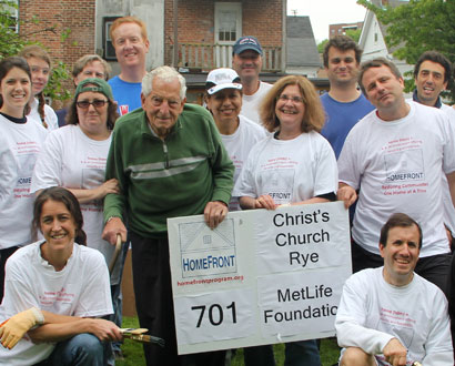 Christ's Church of Rye Volunteers — Photo by Gabrielle Moss