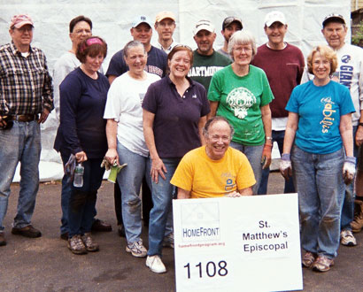 St. Matthew's Episcopal Wilton Volunteers