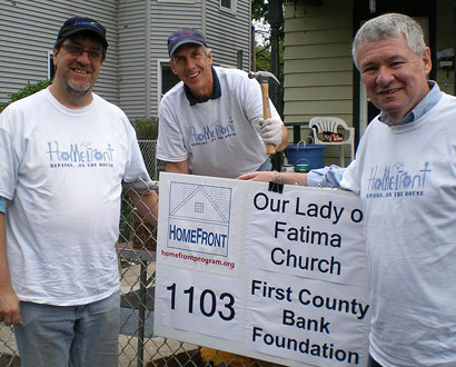 Our Lady of Fatima Wilton Volunteers — Photo by Don Sheetz