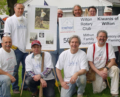 Wilton Kiwanis Volunteers — Photo by Jerry Holdridge