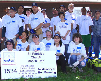 St. Patrick's of Enfield Team IV Volunteers — Photo by Betty Berube Tuttle