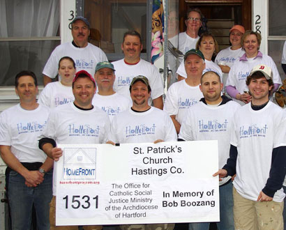 St. Patrick's of Enfield Team I Volunteers — Photo by Betty Berube Tuttle