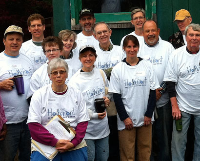 St. Dunstan Glastonbury Volunteers — Photo by Matthew Friedrichs