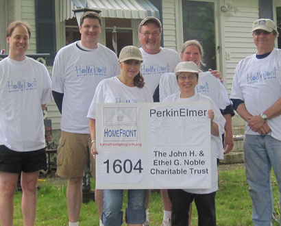 Perkin Elmer Volunteers — Photo by Fred Rubino