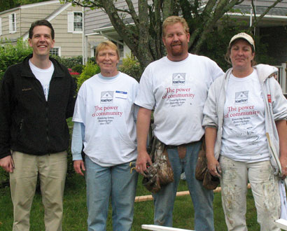 Churches Unite Branford Volunteers