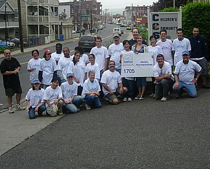Alexion Pharmaceutical Volunteers — Photo by Dan Zeno